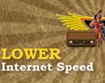 Lower Internet Speed